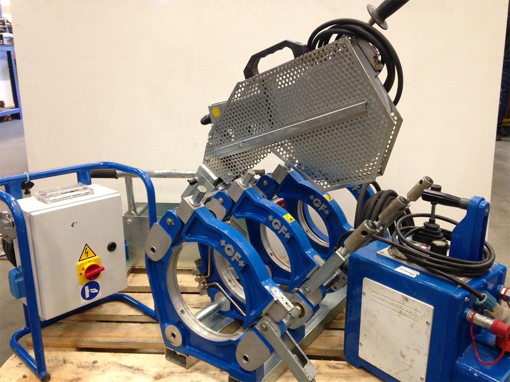 GF250 - machine à souder les tubes plastiques bout à bout +GF+ GF250 jusque Ø250