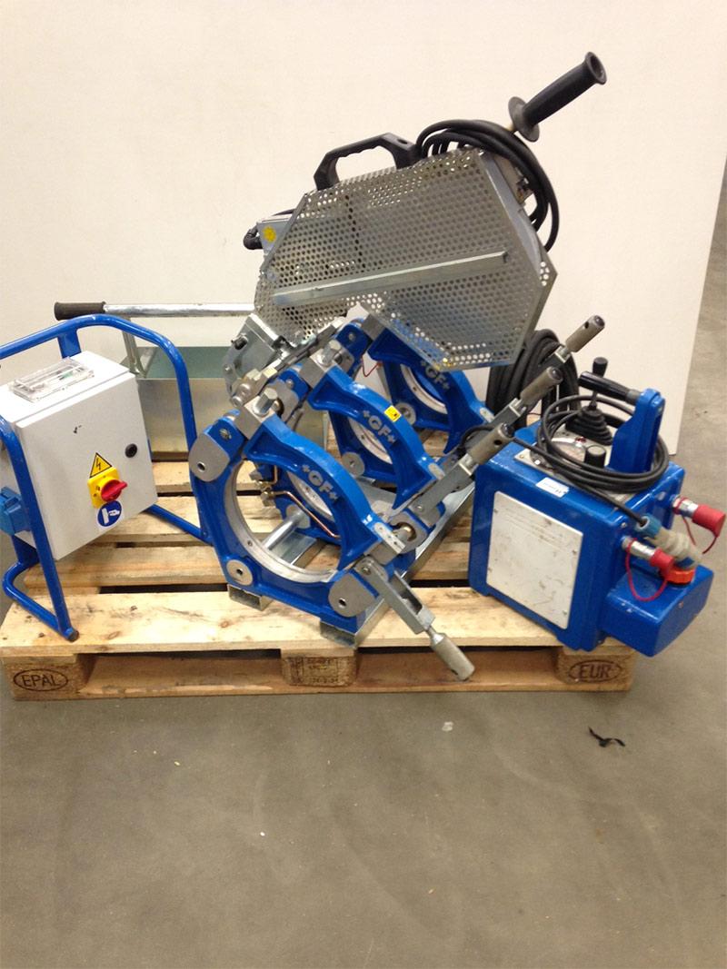 GF250 - machine très robuste du Ø75 à Ø250