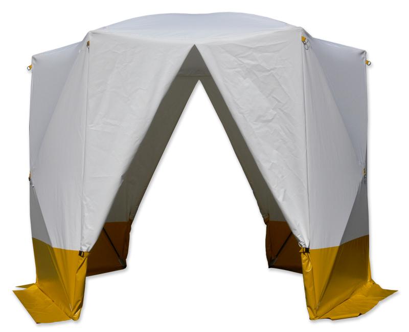 Tente à montage rapide KAR 6 hoeks tent