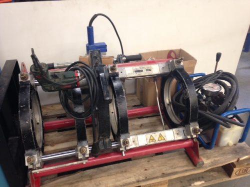 Omicron PSO820 machine à souder les tubes plastiques bout à bout jusque Ø250