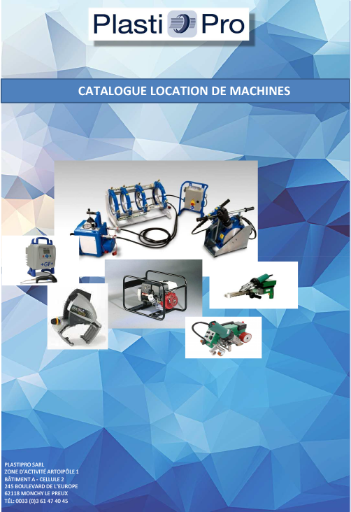 Catalogue location de machines